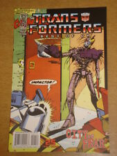 TRANSFORMERS BEST OF UK CITY OF FEAR #2 RI RETRO COVER 2009 IDW