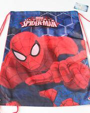 Neu Rucksack Kinder Marvel Sporttasche Spiderman rot Polyester Größe 42x33 cm