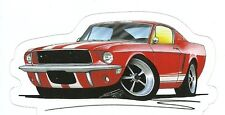 1967 MUSTANG GT AUITOMOBILE Sticker Decal