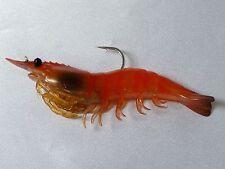 """Live Target Lures Koppers Shrimp Slow Sinking 4"""" Pink Shrimp 4 Pk SSF100SK915"""