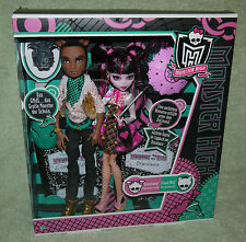 Monster High CLAWD WOLF & DRACULAURA Forbitten Love Puppe Doll NEU OVP NEW MIB