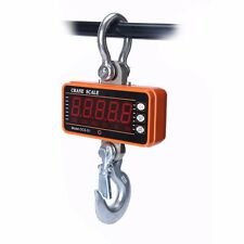 High precision Stainless 1000KG 2000LBS Aluminum Digital Crane Scale With Remote