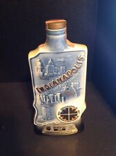 1971 Vintage Jim Beam Indianapolis Main Gate Decanter Regal China Porcelain