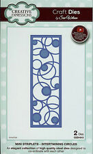 Creative Expressions Sue Wilson Mini Striplets Intertwining Circles Cutting Dies
