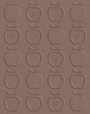 "Quickutz  EF-A2-067 ""Apples"" Embossing Folder  NEW"