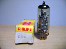 Valvola E83F ( EF83 ) Philips nuova (NOS) - Special Quality - Gold Pins - Tube