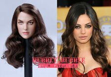 1/6 Mila Kunis Female Head Sculpt PRE-ORDER For Hot Toys Phicen SHIP FROM USA