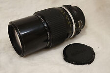 Nikon Ai-S AIS Nikkor 200mm F4 MF SLR 200 4 [Excellent] fully working