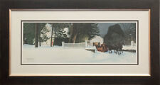 Walter Campbell - Queen Anne's Lace - Artist Proof Print - Framed