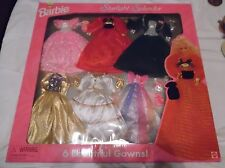Barbie Starlight Splendor Fashions - 6 Gowns - MIB