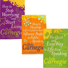 Dale Carnegie 3 Book collection set,The Quick And Easy Way To Effective Speaking
