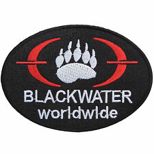 Blackwater Worldwide Training Academi Military Security Iron on Patches #P055