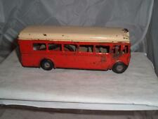 TRIANG MINIC PUSH & GO LONDON TRANSPORT SINGLE DECKER BUS IN WORKING ORDER