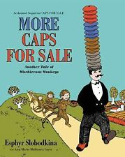 Caps for Sale by Esphyr Slobodkina (children's picture paperback) SCHOLASTIC