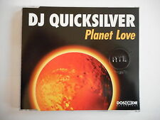 DJ QUICKSILVER : PLANET LOVE - ADAGIO [ CD-MAXI PORT GRATUIT ]