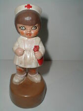 California CERAMICHROME Westminster CA 1978 Medical Nurse Figurine Ceramic