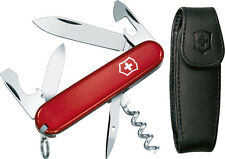 "Victorinox VN53251 Knives Folder Knife Spartan W/ Pouch 3 1/2"" Closed Features"