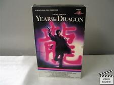 Year of the Dragon (VHS) Large Case Mickey Rourke John Lone Ariane