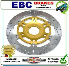 NEW EBC FRONT BRAKE DISC GOLD ROTOR MD1003X 296mm HONDA RVF400 NC35 RVF 400 94