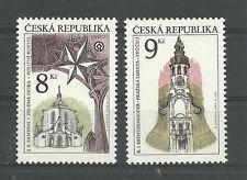 UNESCO/ Tschechische Rep. MiNr 119/20 **