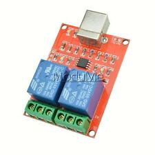 5V USB Relay 2 Channel Programmable Computer Control For Smart Home New MO