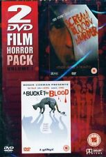 Scream Bloody Murder / A Bucket of Blood, BRAND NEW, SEALED, Region 0, DVD