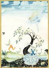Authentic Vintage Kay Nielsen Art Deco / Nouveau Fairy Tale Print
