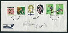 1976 Singapore Air Mail Cover to Taiwan Sugar Co., Republic of China