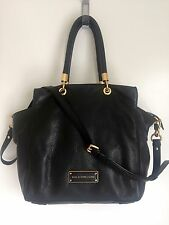 Marc Jacobs Too Hot To Handle Bentley Tote Bag With Cover Bag, Black