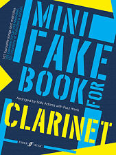 Mini Fake for Clarinet Instrumental Solo Learn to Play SONGS FABER Music BOOK