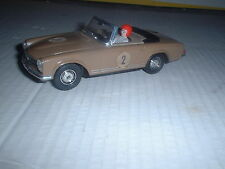 EXIN SPANISH Scalextric REF No C.33 MERCEDES 250SL COUPE BEIGE LIVERY  CAR VGC