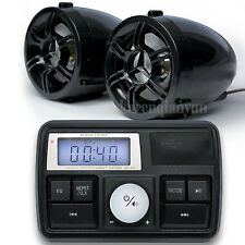 Motorcycle Waterproof Audio System USB SD FM Radio Stereo Amplifier Speaker MP3