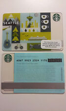 Starbucks Seattle Card 2011 NEW