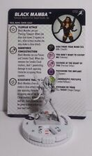 MARVEL HEROCLIX SUPERIOR FOES OF SPIDER-MAN COMMON BLACK MAMBA SKETCH VARIANT