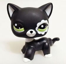 Hasbro Littlest Pet Shop Collection LPS Toys Short Hair Cat Blythe Black Rare