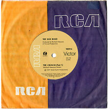 "THE RAH BAND - THE CRUNCH (PART 1) - 7"" 45 VINYL RECORD 1977"