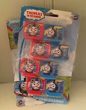 Lot of 16 THOMAS THE TRAIN & FRIENDS Mini Cake Toppers PVC Decorations Figures