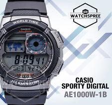 Casio Standard Digital Sporty Design Watch AE1000W-1B