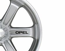 6x Car Alloy Wheel Stickers fits Opel Astra Zafira Decal Vinyl Adhesive PT67