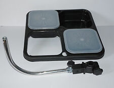 UK Angling Supplies Bait Waiter + 2 Boxes with Seat Box Quick Release Attachment