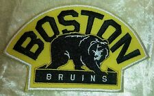 "Boston Bruins NHL Logo 4.5"" Iron On Embroidered Patch ~USA Seller~"