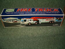 Hess Fire Truck With Ladder Emergency Vehicle lights Up Sirens Horn
