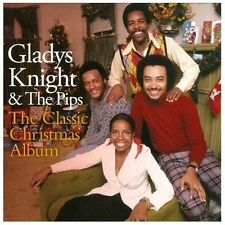 """GLADYS KNIGHT & THE PIPS CD: """"THE CLASSIC CHRISTMAS ALBUM"""" 1975-1982"""
