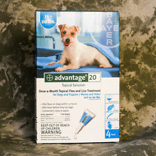 Advantage Teal (4PACK) for Medium 11-20 lbs ~FREE SHIPPING~