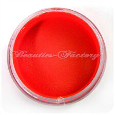 10g New Nail Acrylic Powder  Nail Art Tips UV Gel Builder Colour Red #286Red