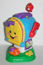 Fisher Price Laugh Learn Learning Letters Mailbox Songs ABC's Numbers Colors