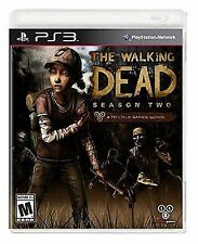 NEW The Walking Dead Season Two/2 Sony PlayStation 3 sealed PS3 VIDEO GAME 2014
