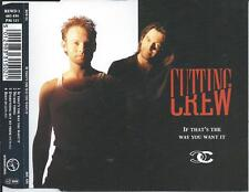 CUTTING CREW - If that's the way you want it CDM 4TR Austria Print 1992