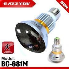 EazzyDV Home Monitoring Lamp BC-681M Bulb DVR Camera 64G SD Card Electronics 032