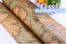 World Sailing Map Gift Wrapping Paper - 30'' Decor Roll Birthday Wholesale Sheet